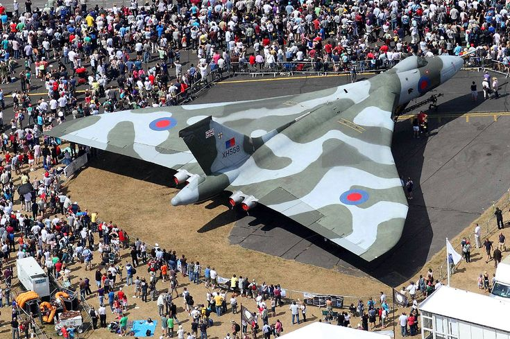 AVRO Vulcan at Farnborough