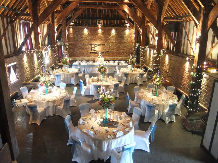Wedding Venue Cooling Castle Barn