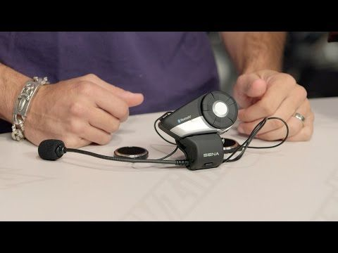Sena 20S Bluetooth Headset Review at RevZilla.com - YouTube