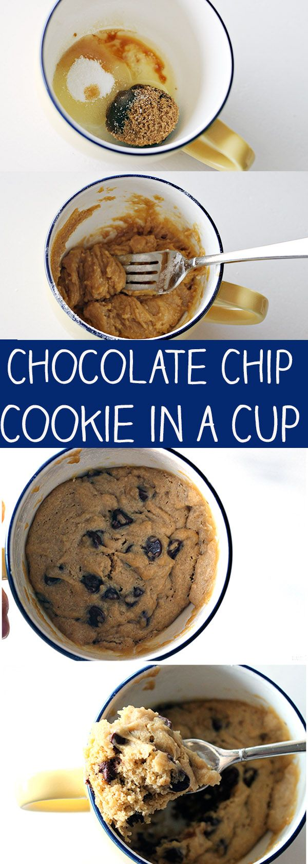 This Chocolate Chip Cookie in a Cup is still one of my favorite recipes on my blog! A fresh, homemade chocolate chip cookie that you can make in the microwave. No, really! It's a simple recipe that uses the same ingredients as a traditional chocolate chip cookie, but takes just minutes to prepare and cook! …