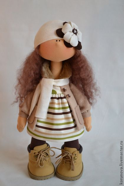Păpuși de colecție manual. Masters Fair - textile Boni papusa manual. Handmade.