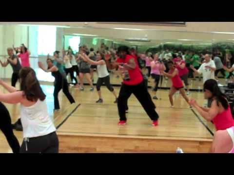 LifeTime Fitness Cardio Kickboxing Class THIS IS A GOOD ONE!!!!!!!!!!