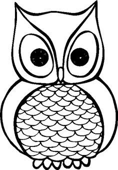 fat quarter friday {Haidee the HOOligan owl stuffie & a ...   Owl Tracing For Cut Out