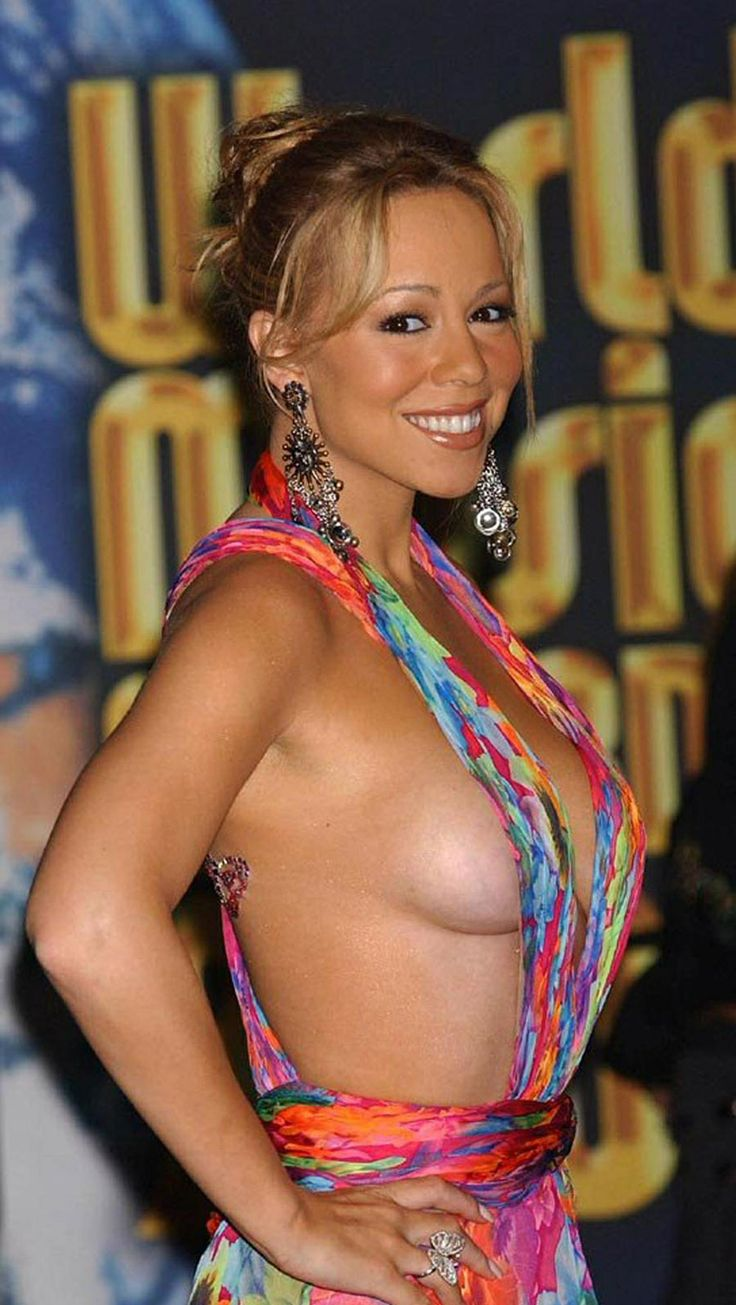 Mariah carey boob picture for