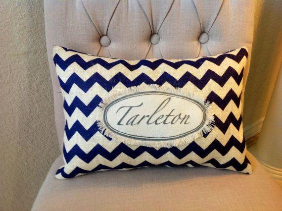 "Tarleton State University 12""X18"" Decorative Pillow on Etsy, $19.50"