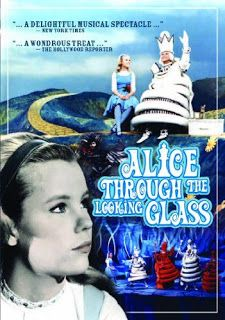 Cinema classics on DVD: Alice Through the Looking Glass (1966), Alice in Wonderland (1983) ~ Colleen Dewhurst, Jack Palance, Smothers Brothers, Jimmy Durante. Agnes Moorehead, Nanette Fabray, Richard Burton