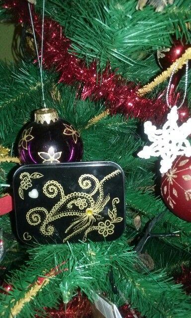 Jewellery box - handmade Copyright@ Laura Ciocoiu