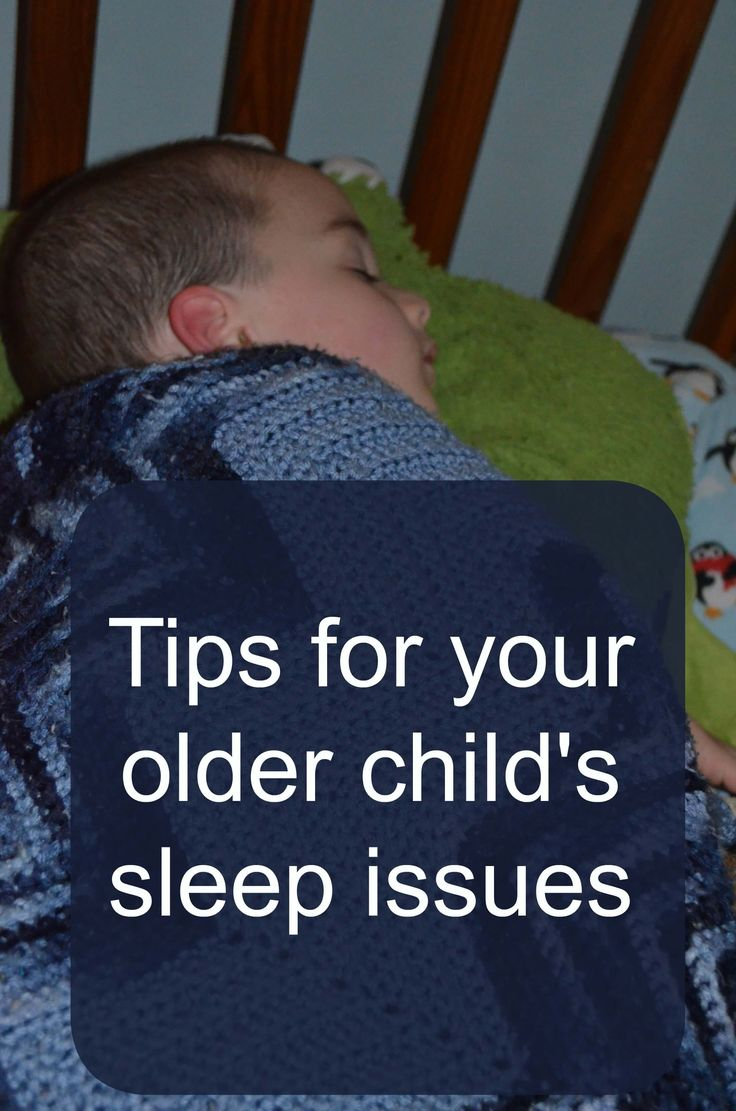 Sleep issues with your child are the worst. No one deals well with very little sleep. These are some tips to help your older child sleep better.