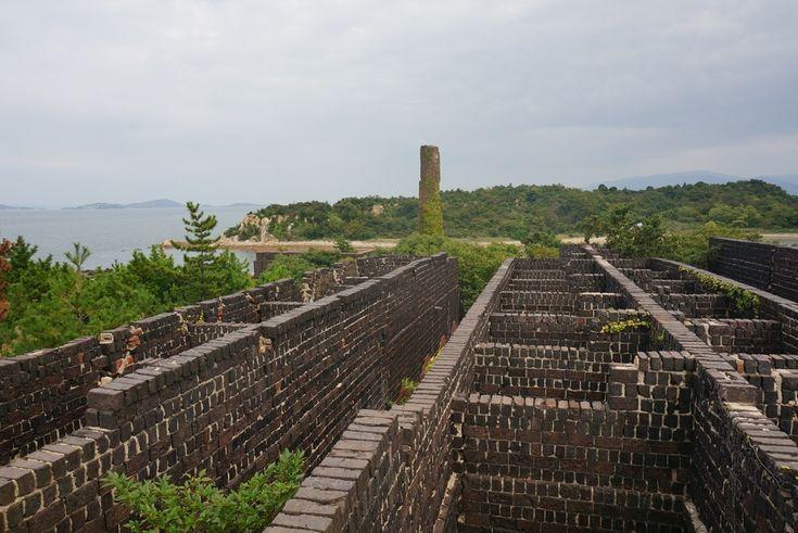 1909年に建設された銅の精錬所の遺構を活用した犬島精錬所美術館。犬島観光のおすすめ