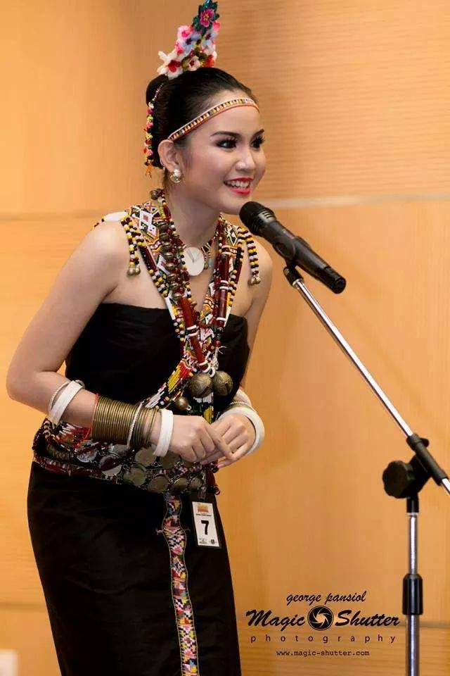 Rungus Lass from Kudat is Miss Borneo Ethnic 2014 held in Menara SSM KL Sentral recently in conjunction with Borneo Hornbill Festival 2014