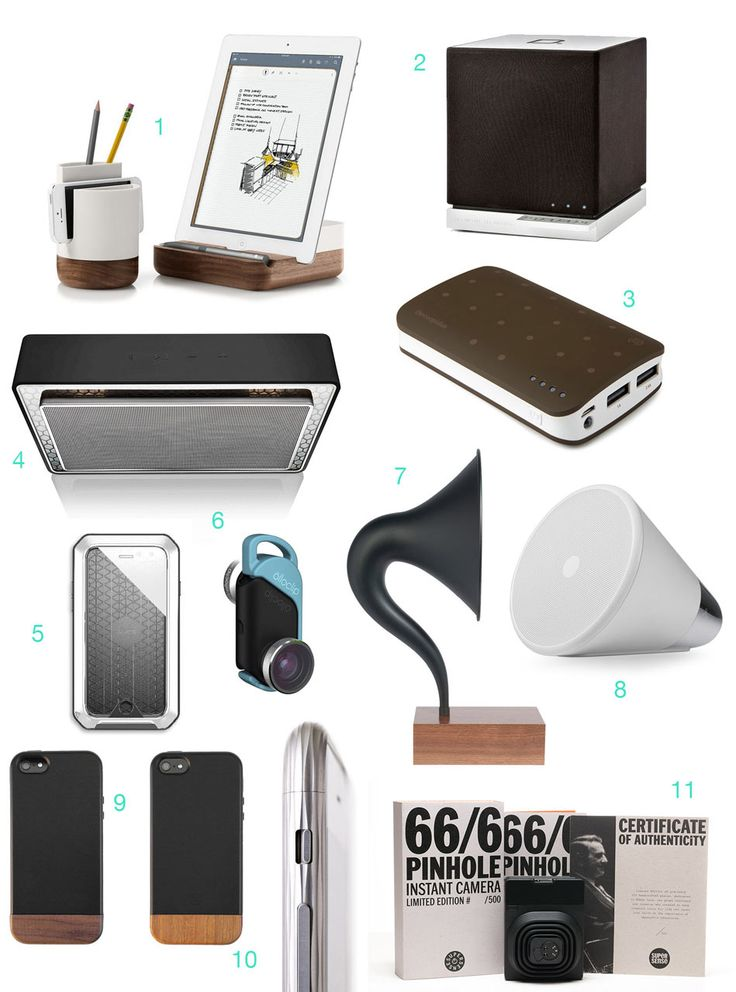 The latest and best accessories for the iPhone 6 and iPhone 6 Plus from Evernote, Definitive Technology, Bowers & Wilkins, Olloclip, and Gramovox.