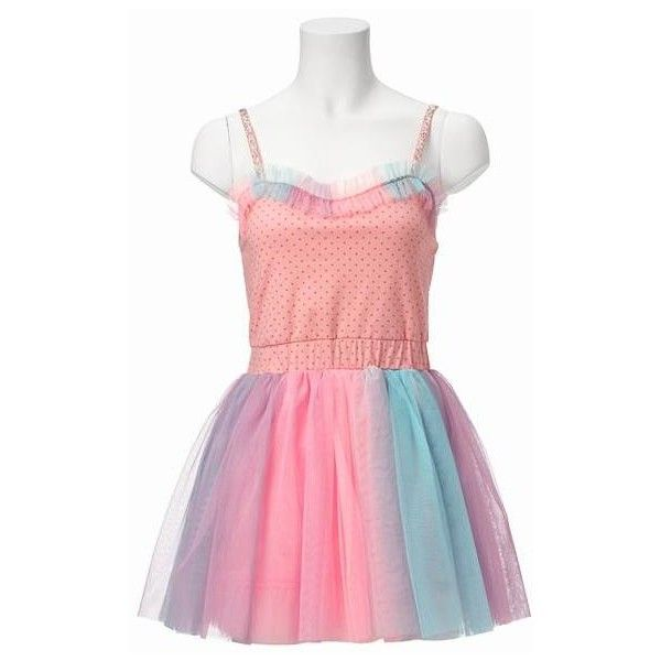 6%Dokidoki Merry-Go-Round Dress W/Clip ($216) ❤ liked on Polyvore featuring dresses, fairy kei, going out dresses, party dresses, night out dresses, multi colored dress and multicolored dress