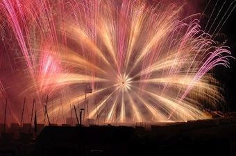 Italiaans Vuurwerk van wereldklasse in Knokke-Heist