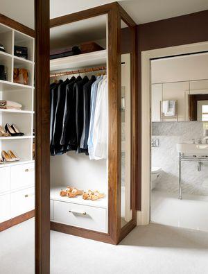 19 best master bath closet combo images on pinterest for Armoire style japonais