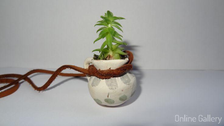 Colier handmade eco-chic | Online Gallery - Galerie online de arta, handmade si obiecte decorative unicat