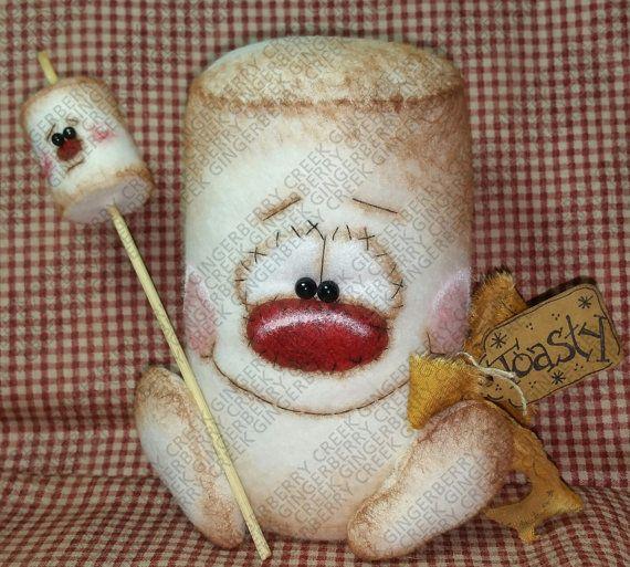 Malvavisco tostado y compañía patrón 210 por GingerberryCreek