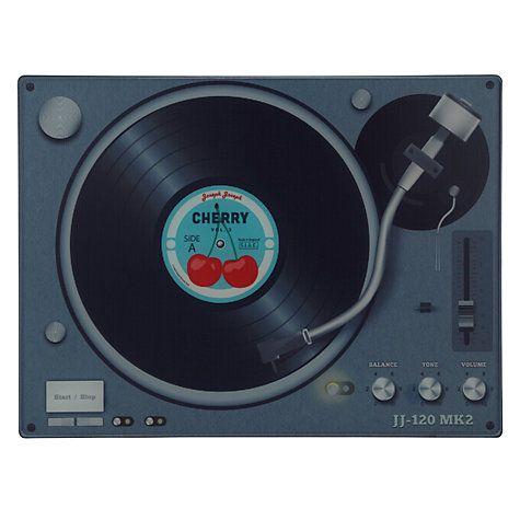 Buy Joseph Joseph Record Player Glass Worktop Saver Online at johnlewis.com