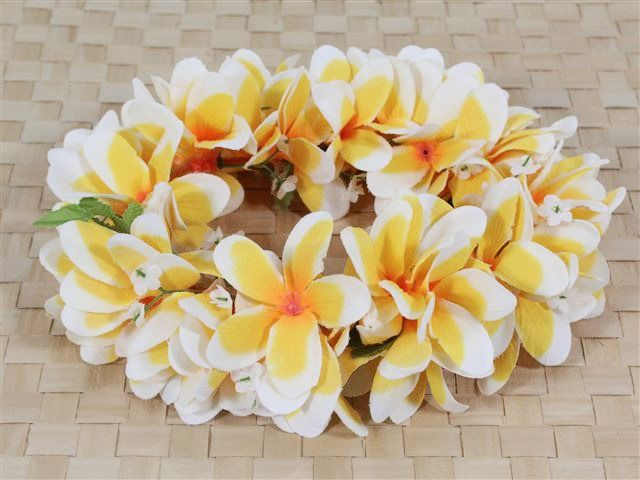 Yellow Plumeria Headband Haku Lei Alohaoutlet Bridal Flower