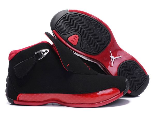 305869 165 Air Jordan 18 Original OG Black Women Varsity Red cheap Womens  Jordans, If you want to look 305869 165 Air Jordan 18 Original OG Black  Women ...