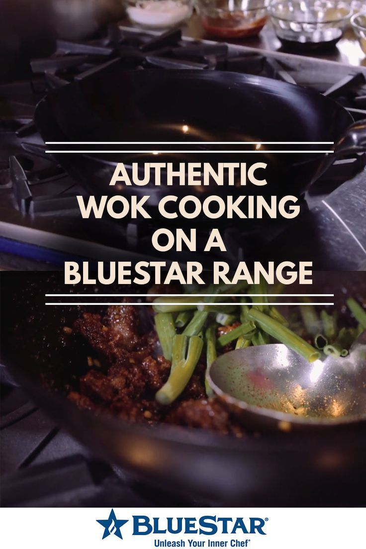 Luxury Lifestyle : Authentic wok cooking on a Bluestar Range. Click to watch the secrets in this vi