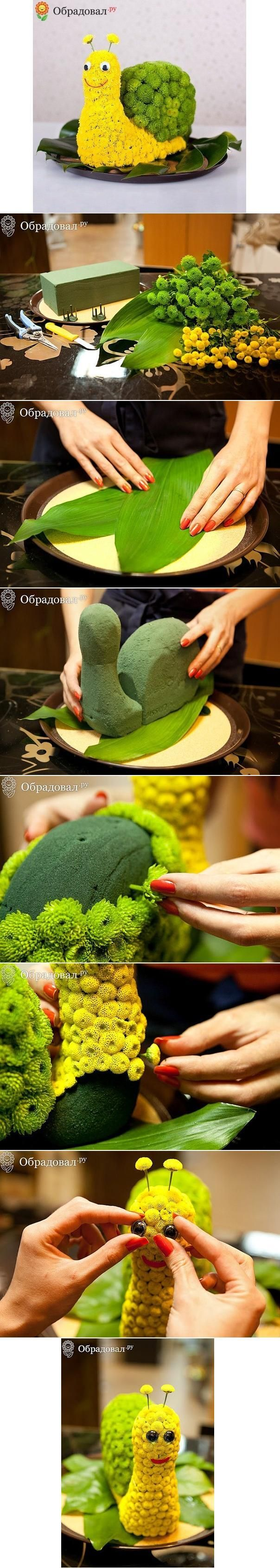 DIY Smiling Snail DIY Projects