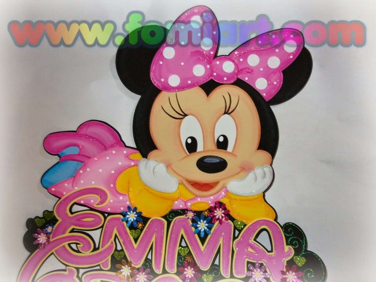 1719 best images about mis fofuchas y otras mas on - Manualidades minnie mouse ...