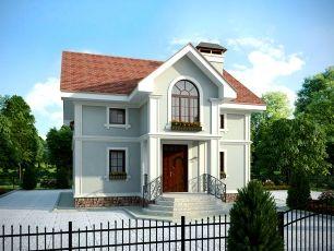 Готовые проекты домов с мансардой - Мастерская Евгения Содылева