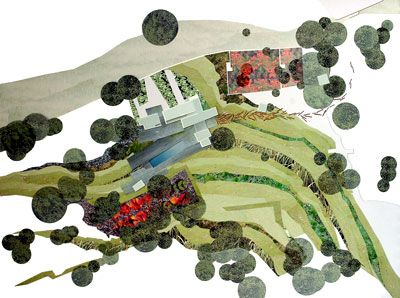 Landscape collage by Toh Shimazaki Architecture