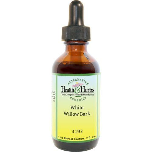 White Willow bark (Salix alba) - Organic Single Herb Extract 1 oz by HerbalFitness. $10.99. A bitter, astringent, cooling herb that relieves pain, lowers fever, and reduces inflammation.. Used internally for minor feverish illnesses and colic, rheumatism, arthritis, gout, inflammatory stages of auto immune diseases, diarrhea dysentery, headache, and neuralgia.. For the symptomatic relief of headaches, fevers, lower back pain, sciatica, arthritic pains, heartbu...