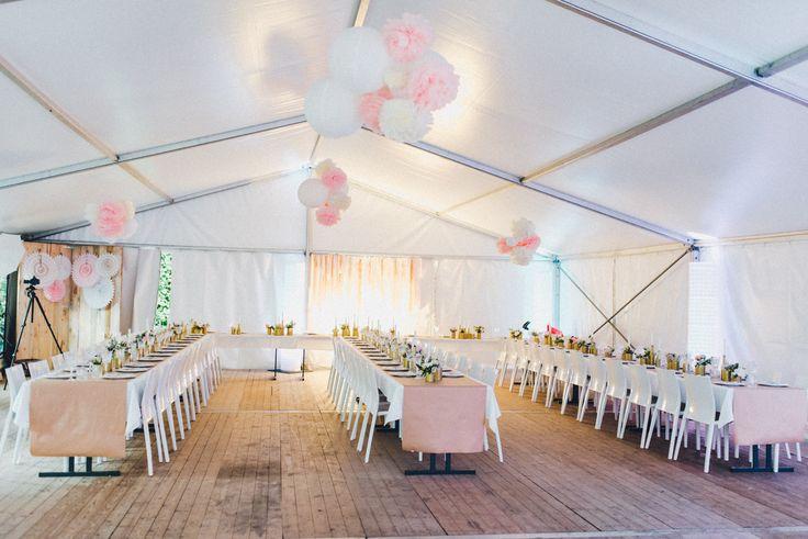 DIY MIDSUMMER WEDDING  (Zelt + Möbel by Party Rent Group)  Foto by http://kreativ-wedding.de/