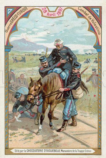 Battle of Velestino, Greco-Yurkish War, 28 April 1897