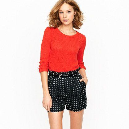 shorts shorts shorts: Polka Dots, Summer Outfit, Organza Shorts, Style, J Crew, Polka Dot Shorts, Jcrew, Polka Dot Organza
