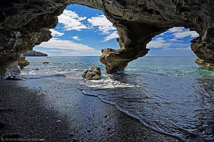 St. Paul's beach, Rethymno, Crete, Greece