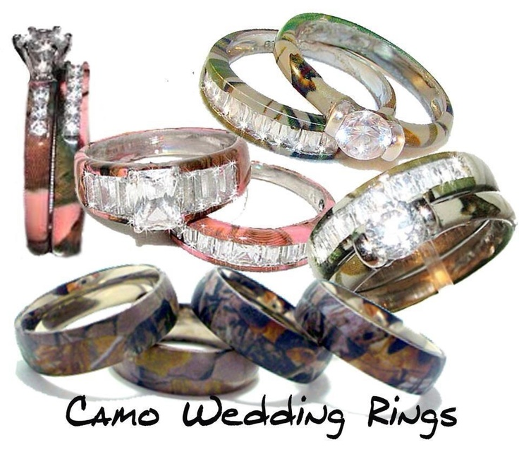 camo wedding rings i love the square dimond pink mossy oak ones - Mossy Oak Wedding Rings