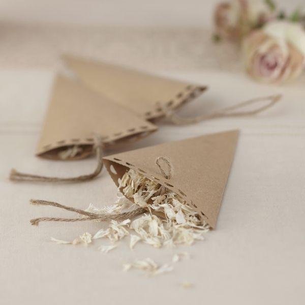 Konfetti Tüten Aus Kraftpapier   10 Stück   Sweetwedding   Hochzeitskarten,  DIY, Hochzeitsdekoration. Einladungskarten ...