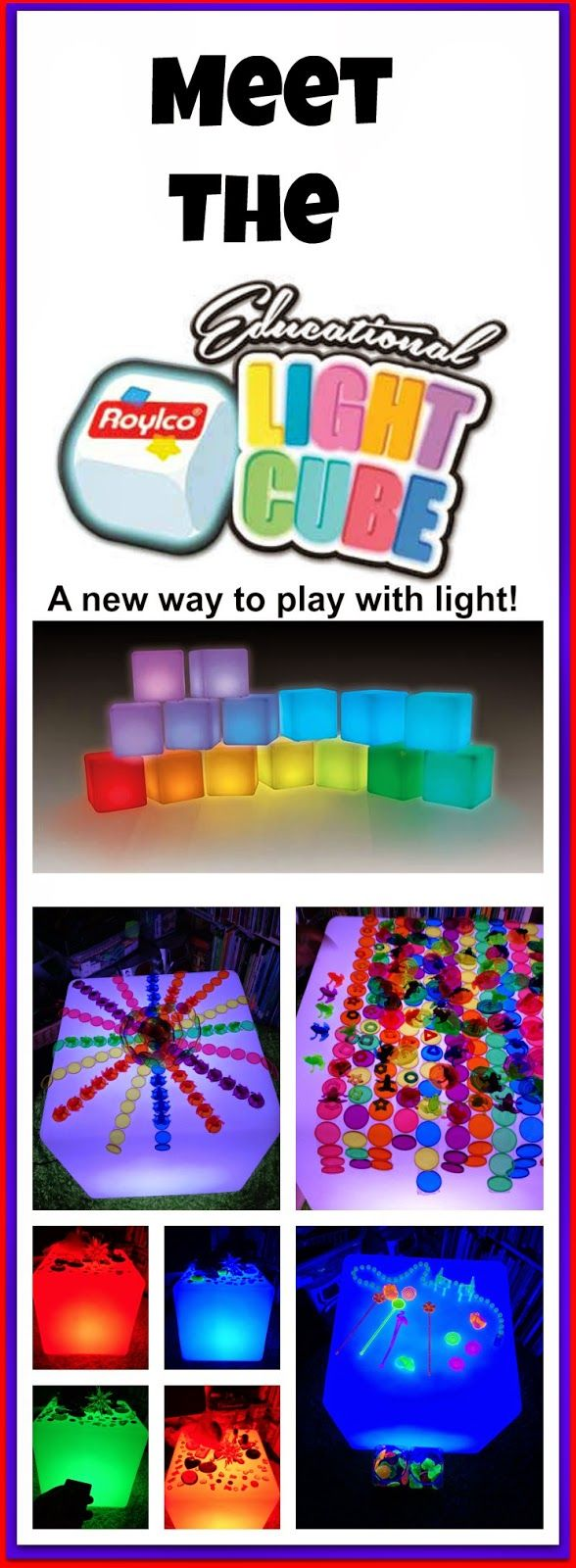 Meet the light cube - a new way to play with light!