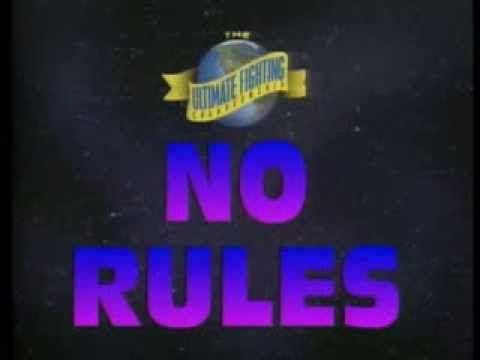 UFC 1 Rules (1993)
