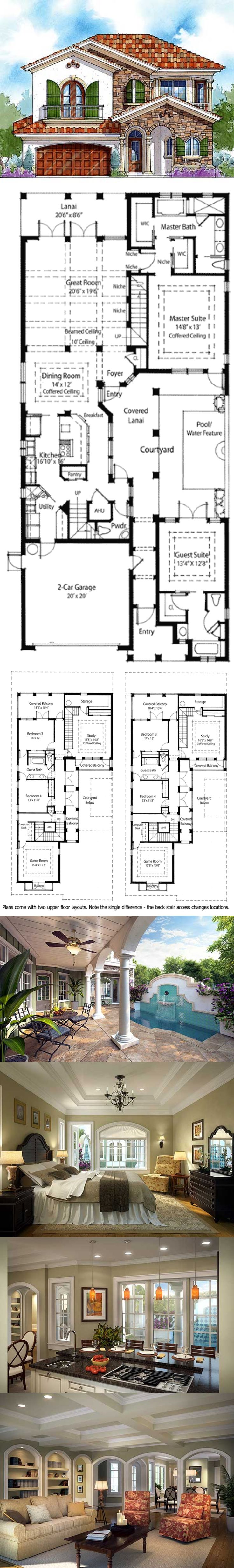 204 best house plans and exteriors images on pinterest house