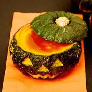 坊ちゃんかぼちゃのまるごとかぼちゃプリン