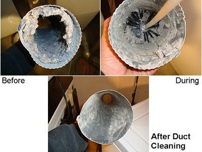 Dryer Vent Cleaning It's AMAZING how much builds up & how mush faster your clothes dry after cleaning out the duct work!  not to mention safer....