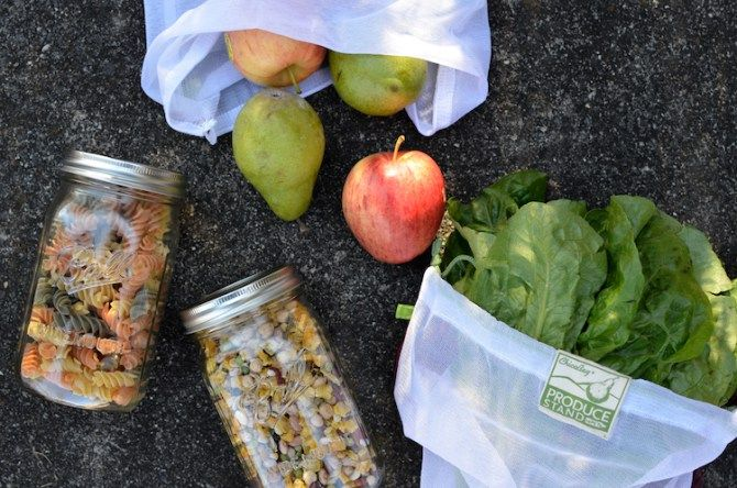 A guide to zero waste, sustainable living alternatives to plastic bags.