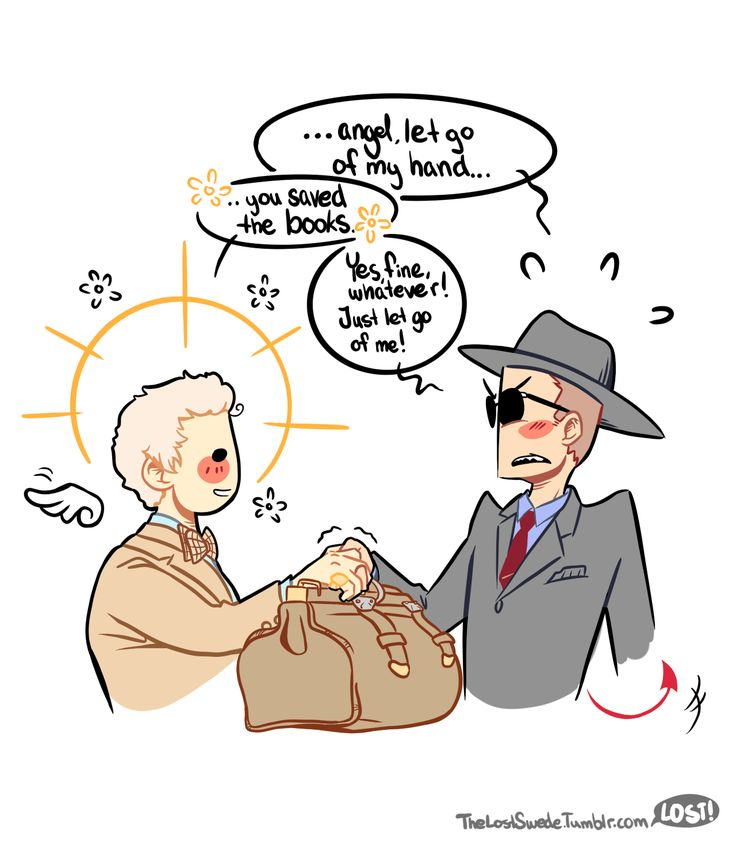 Some kind of writer of fanfic… — Aziraphale, h…