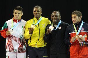 Cristobal Torres... Medalla de bronce Lucha Grecoromana Panamericanos 2015