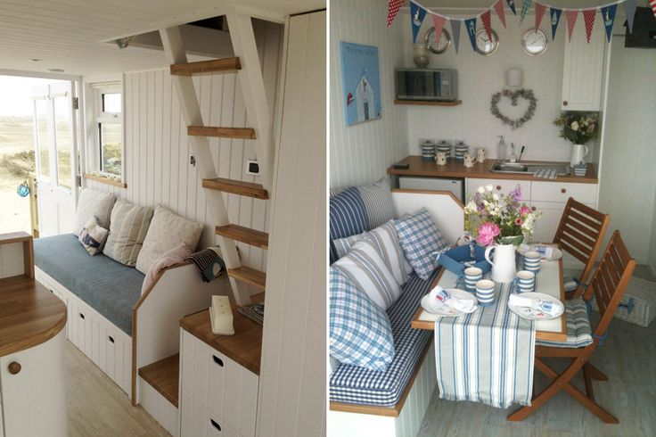 Mudeford Hut 146 Interior by Ecologic | Arch&Design - Huts&Cabins ...