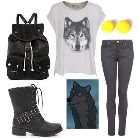 cute outfits for middle school | Cute Outfits For Fall and School Based On The Jungle Book | Gurl.com