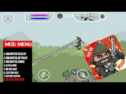 mini militia mod apk latest version 2018