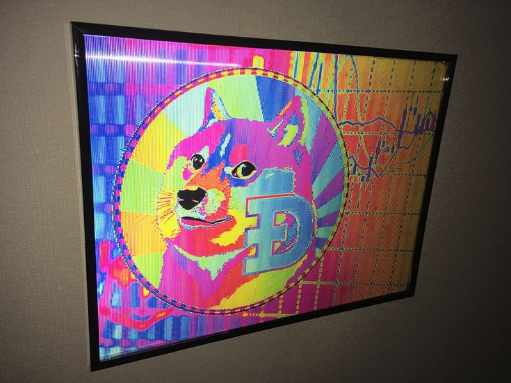 Doge Coin | Hologram | Optical Illusions | Psychedelic ...
