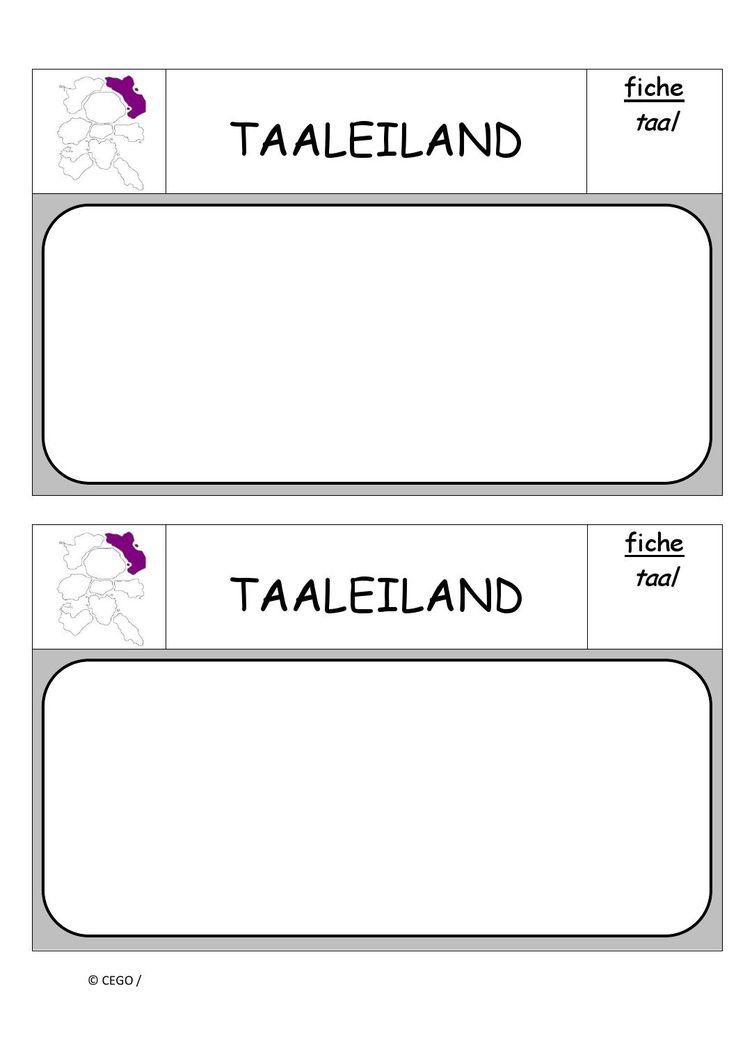 Taaleiland opdrachten (0)