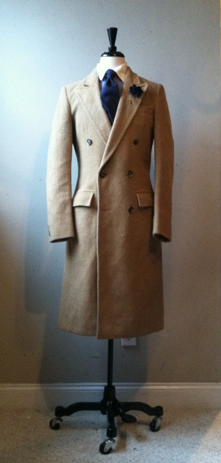 Camel Hair Double Breasted OverCoat
