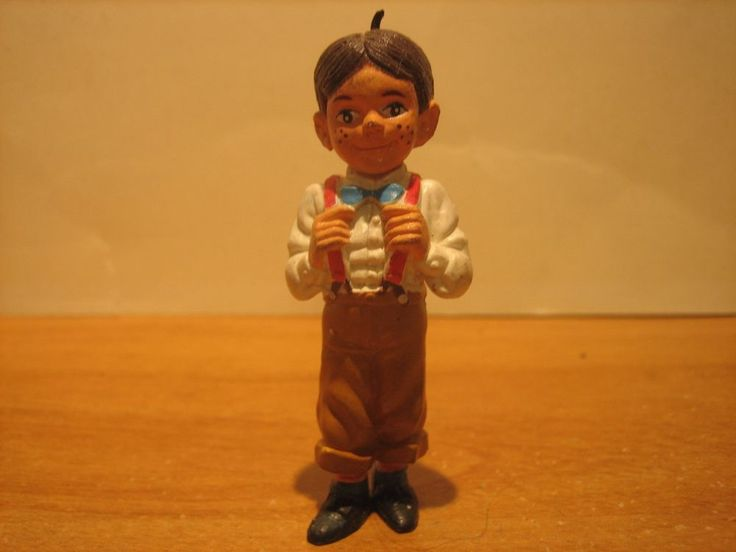 "(1)  1985 King World Our Gang Little Rascals 2 3/4"" Tall ALFALFA Figure"